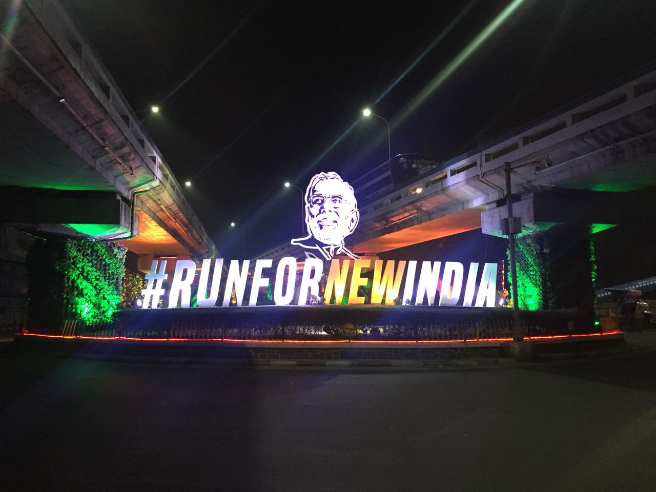 RUN FOR NEW INDIA